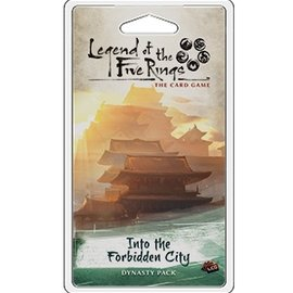 Fantasy Flight L5R LCG: Into the Forbidden City Dynasty Pack