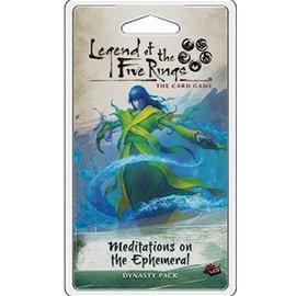 Fantasy Flight L5R LCG: Meditations on the Ephemera Dynasty Pack