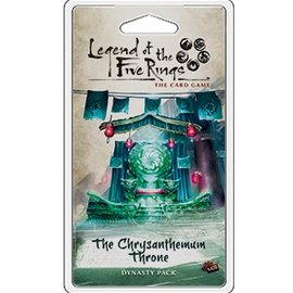 Fantasy Flight L5R LCG: The Chrysanthemum Throne Dynasty Pack