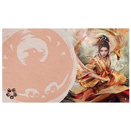 Fantasy Flight Legend of the Five Rings LCG: The Soul of Shiba Playmat (Phoenix Clan)