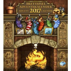 Frosted Games Brettspiel Advent Calendar 2017
