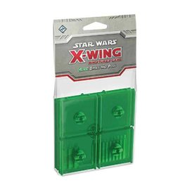 Fantasy Flight Star Wars X-Wing Miniatures Game: Green Bases and Pegs