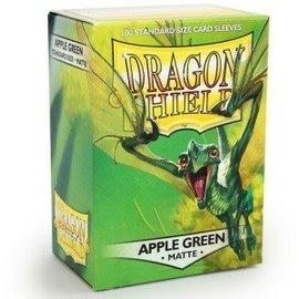 Dragon Shields Dragon Shields: (100) Matte Apple Green