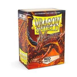 Fantasy Flight Dragon Shields: (100) Matte Red