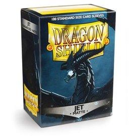 Dragon Shields Dragon Shields: (100) Matte Jet
