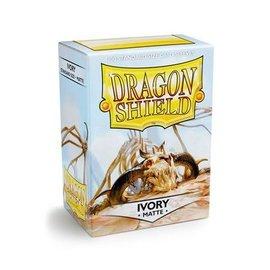 Dragon Shields Dragon Shields: (100) Matte Ivory