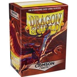 Dragon Shields Dragon Shields: (100) Matte Crimson