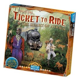 Days of Wonder Ticket to Ride Map Collection: Volume 3 - The Heart of Africa