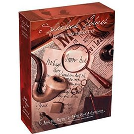 Asmodee Sherlock Holmes: Consulting Detective - Jack the Ripper & West End Adventures (ANA Top 40)