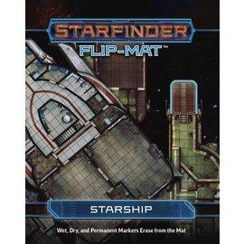 Paizo Starfinder RPG: Flip-Mat - Starship