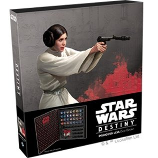 Fantasy Flight Star Wars Destiny: Dice Binder - Princess Leia