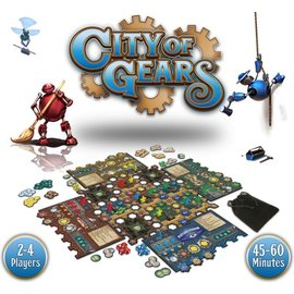grey fox games City of Gears (Founders Kickstarter Edition)