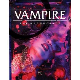 Modiphius Vampire: the Masquerade 5th Edition Core Book