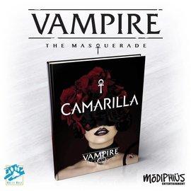 Modiphius Vampire: the Masquerade 5th Edition Camarilla Supplement Hardcover