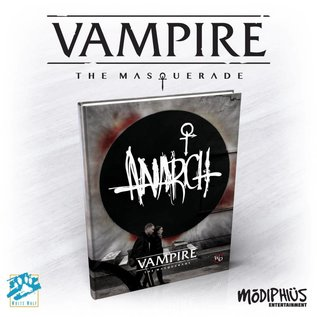 Modiphius Vampire: the Masquerade 5th Edition Anarch Supplement Hardcover