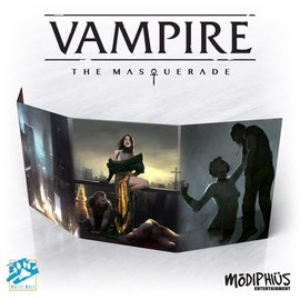 Modiphius Vampire: the Masquerade 5th Edition Storyteller Screen