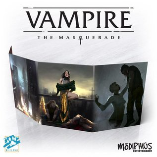 Modiphius Vampire: the Masquerade 5th Edition Storyteller Screen