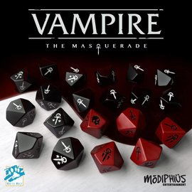 Modiphius Vampire: the Masquerade 5th Edition Dice Set