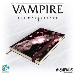 Modiphius Vampire: the Masquerade 5th Edition Official Notebook