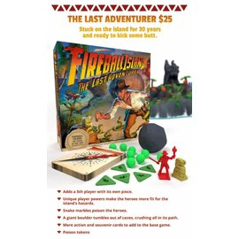restoration games Fireball Island Expansion - The Last Adventurer