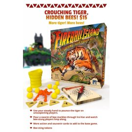 restoration games Fireball Island Expansion - Crouching Tiger Hidden Bees