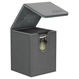 Ultimate Guard Ultimate Guard - Flip Deck Case 100+ Xenoskin - Grey