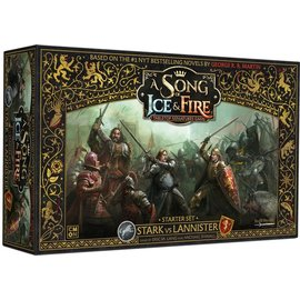 Cool Mini or Not A Song of Ice & Fire: Tabletop Miniatures Game Starter Set - Stark vs Lannister