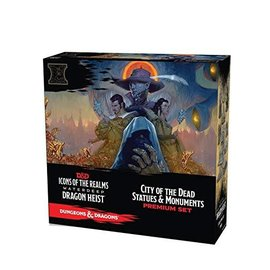 Wiz Kids Dungeons & Dragons Fantasy Miniatures: Icons of the Realms Set 9 - Waterdeep Dragon Heist City of the Dead