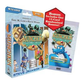 Steve Jackson Games Munchkin CCG - Wizard and Bard Starter Set