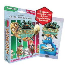 Steve Jackson Games Munchkin CCG - Ranger and Warrior Starter Set