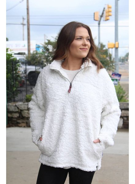 Live Oak Solid White Fleece