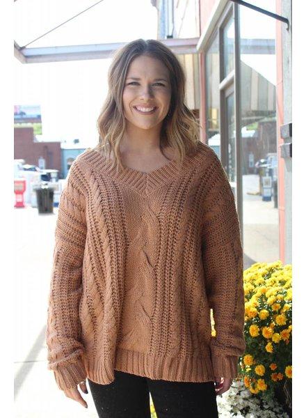 HYFVE Leah Cozy Oatmeal Sweater