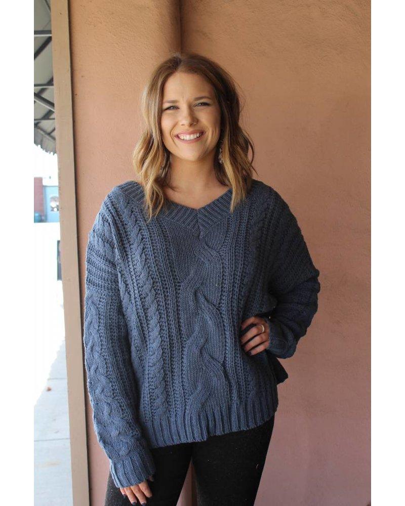 HYFVE Leah Cozy Oatmeal Sweater LUX11284