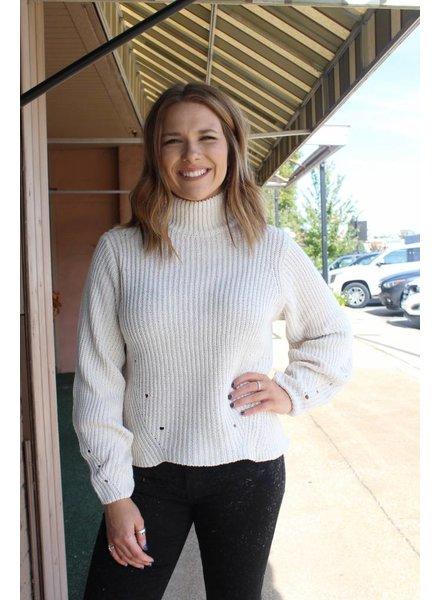 Double Zero Lola Cream Sweater