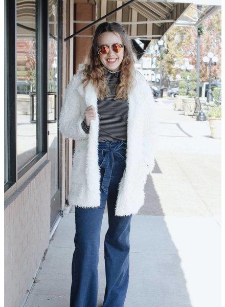 Fashionistas Lillian Faux Fur Coat