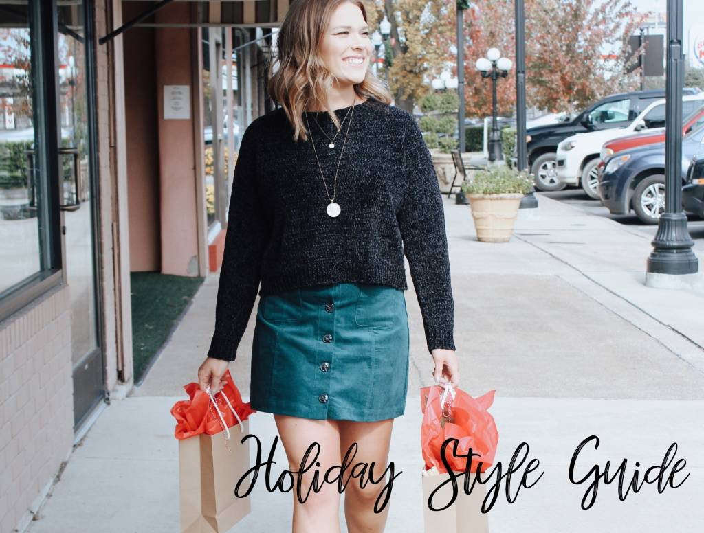 Holiday Style Guide 2018!