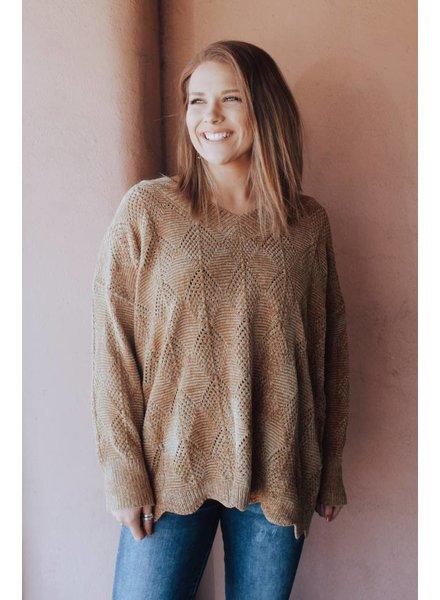 Wishlist Tia Mustard Sweater