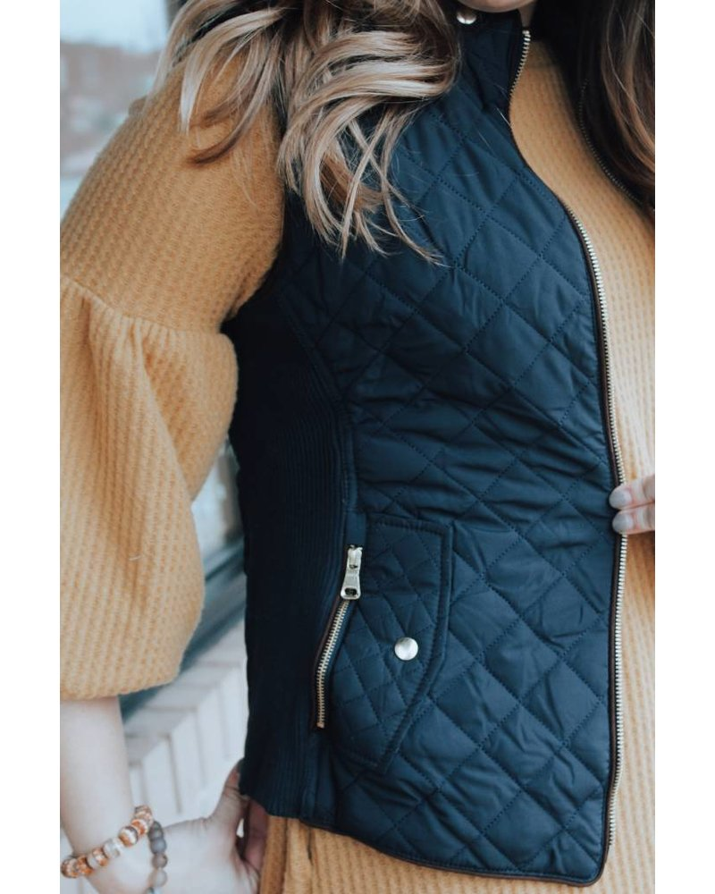 Nadia Southern Quilted Vest TR-110604