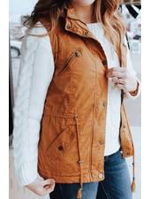 Trend Shop Camel Utility Vest