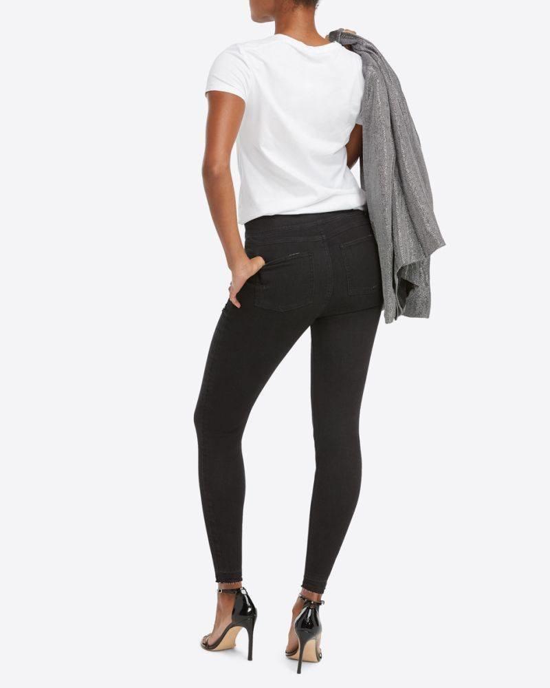 SPANX SPANX Distressed Skinny Jeans Vintage Black