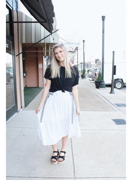 Hem & Thread Sadie Tie Skirt