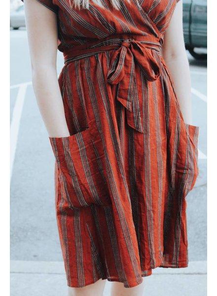 Hem & Thread Willa Wrap Dress