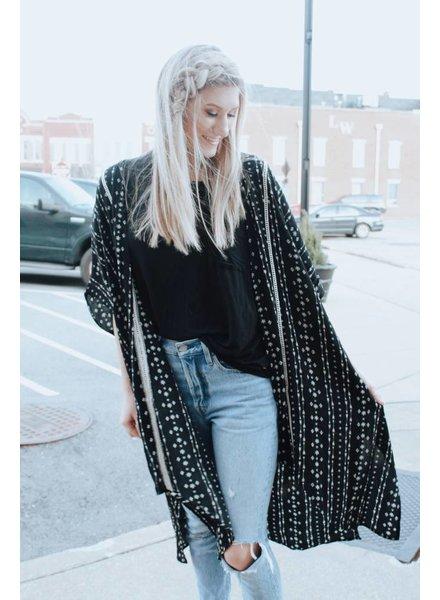 Hem & Thread Bohemian Arrow Kimono