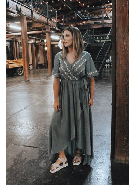 Jodifl Lottie Embroidery Maxi