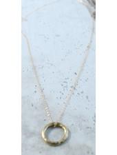 Karama Karama Floating Circle Necklace