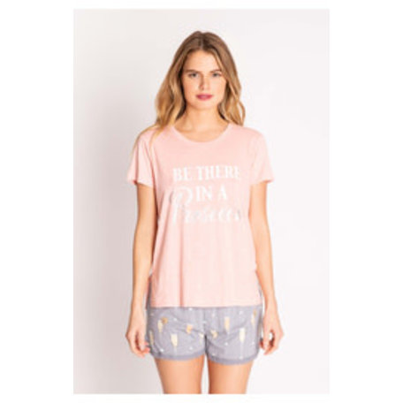 Playful Prints SS T-shirt Prosecco