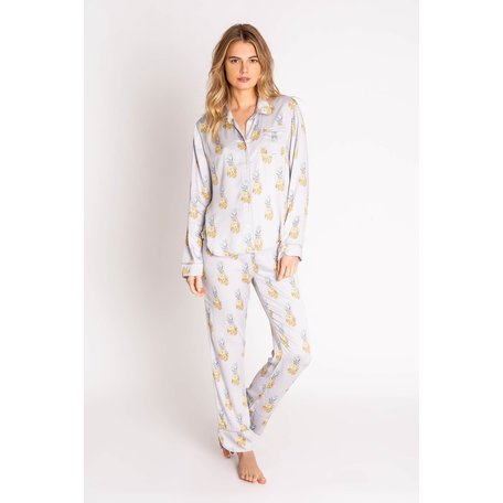 Playful Prints PJ Set Pineapple