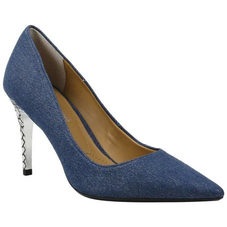 Maressa Shimmer Fabric Pump