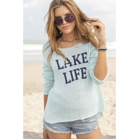 074 Lake Life Crewneck Cotton
