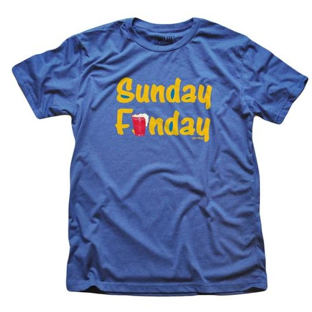Sunday Funday Royal T-Shirt